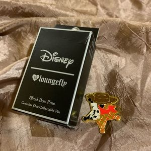 Disney loungefly toy story woody star pin
